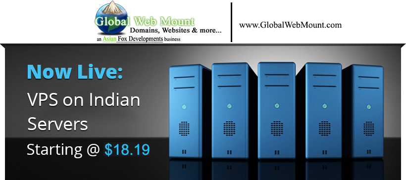 Global Web Mount - Now Live VPS (Indian Servers)