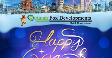 Happy New Year 2016 - Asian Fox Developments