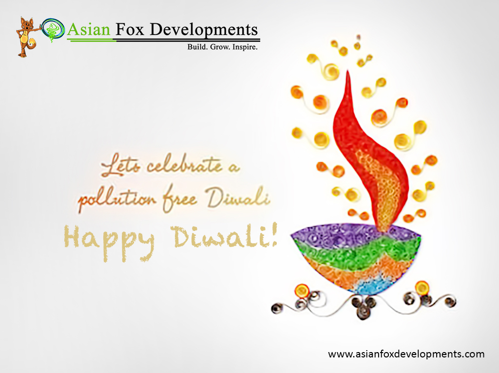 Asian Fox Developments - Happy Diwali 2016