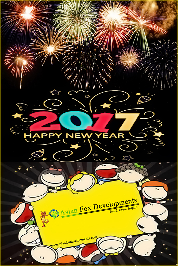 Asian Fox Developments - Happy New Year 2017