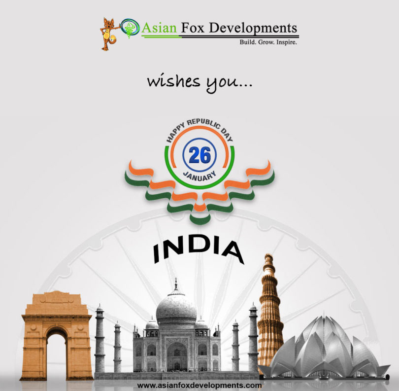 Asian Fox Developments - Happy Republic Day - 2017