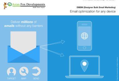 Email optimization for any device - Asian Fox Developments - DBEM - Designer Bulk Email Marketing