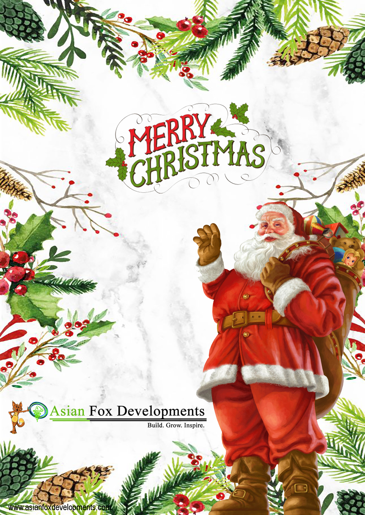 Asian Fox Developments - Merry Christmas 2017